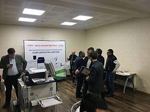 В Баку прошла презентация Xerox Versant 180