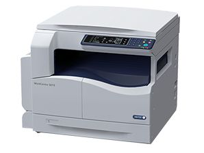 The new Xerox WC 5019/5021 model added to a row of multi-functional office equipment